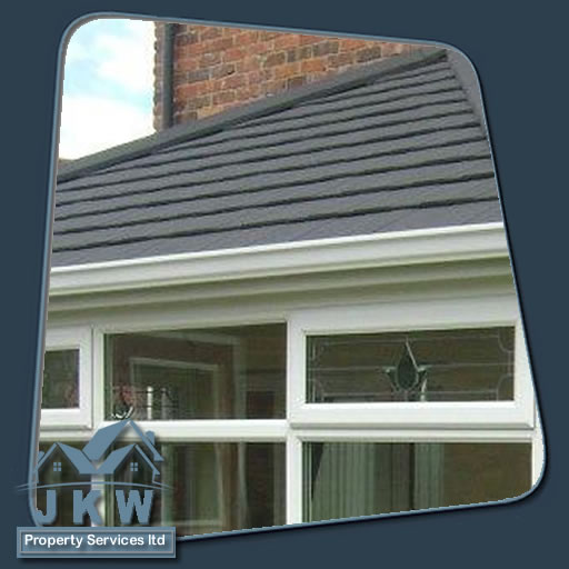 Conservatory roof fitted