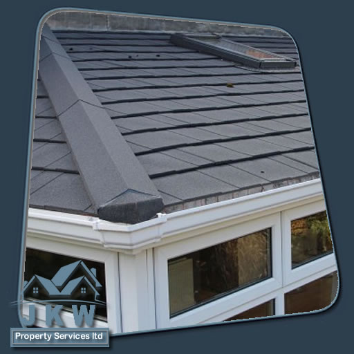 Conservatory roof fixed